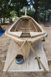Longtail Boats Construction Stock Image