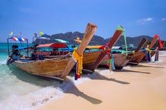 Longtail Boats Royalty Free Stock Photo