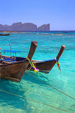 Longtail Boats Royalty Free Stock Images