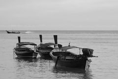 Longtail boats in Thailand Royalty Free Stock Image