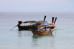 Longtail boats in Thailand Stock Images