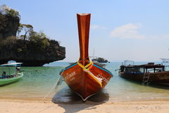 Longtail boats Thailand Stock Photography
