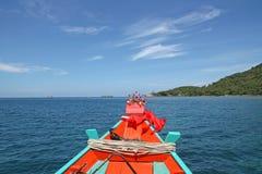 Longtail Boot - Thailand Stockbilder