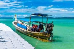 Longtail Boot in Thailand Stockfotografie