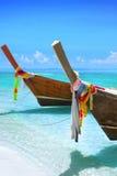 Longtail Boote Lizenzfreie Stockfotografie