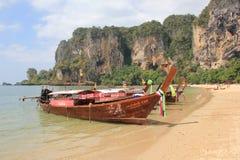 Longtail Boote Stockbild