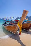 Longtail Boote, Thailand Stockfotos