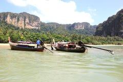 Longtail Boote Lizenzfreie Stockbilder