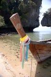 longtail de bateau Images libres de droits