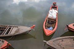 Longtail fartyg Royaltyfri Foto