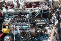 Longtail fartygmotor Arkivbilder