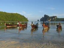 Longtail im Phi-Phi stockfotografie