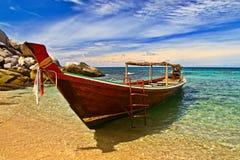 longtail łodzi Zdjęcie Stock