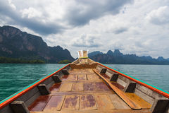 Longtail in Thailand Stock Photography