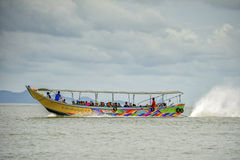 Long tail tour in Phang Gna Bay, Thailand Royalty Free Stock Photography