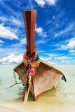 Longtail tradycyjna Tajlandzka łódź obraz royalty free