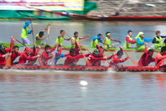 Longtailboat racing . Stock Photos