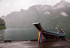 Longtailboot in Thailand Royalty-vrije Stock Afbeeldingen