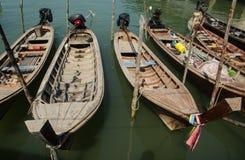 Longtails fartyg i Phuket, Thailand Fotografering för Bildbyråer