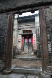 Longtan老乡下村庄在Yangshuo,中国 库存图片