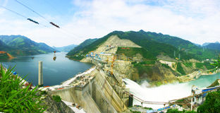 Longtan Hydropower Station Royalty Free Stock Photos