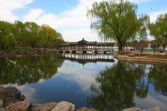 Longtanhu park in beijing Royalty Free Stock Image