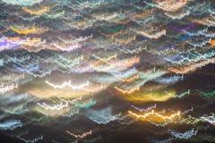 Longue exposition abstraite illustration libre de droits