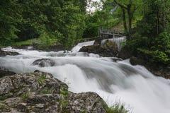 Longue exposition de The Creek Image libre de droits