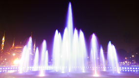 Longue exposition de fontaine Image stock