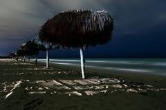Longue exposition de Varadero photo stock