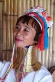 Longue femme de cou Photographie stock libre de droits