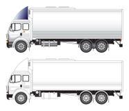 Longue illustration de vecteur de camion Illustration Libre de Droits