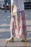 Longue jupe Image libre de droits