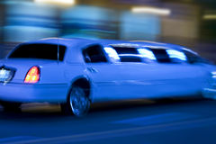 Longue limousine Photo stock