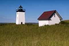 Longue lumière de point dans Cape Cod, Nouvelle Angleterre Photographie stock libre de droits