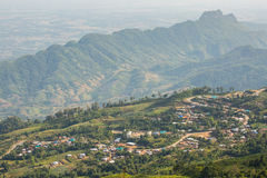 Longue montagne Image stock