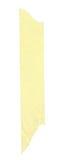 Longue piste de de bande paerforée jaune Photographie stock libre de droits
