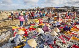 Longue poissonnerie de Hai Photo stock