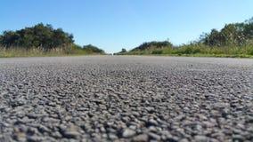 Longue promenade en avant Image stock