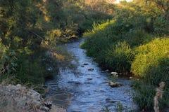 Longue rivière Images stock
