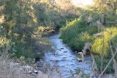 Longue rivière Photographie stock libre de droits