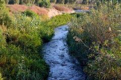 Longue rivière Image libre de droits