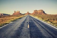 Longue route Image stock