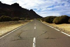 Longue route Photographie stock libre de droits