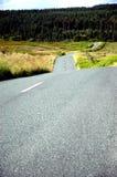 Longue route d'enroulement Image libre de droits