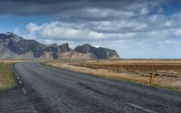 Longue route dure Photo libre de droits