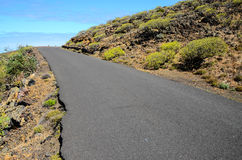 Longue route isolée Photo libre de droits