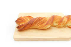 Longue torsion Honey Danish Pastry Photo stock