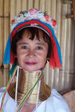Longue tribu de cou en Thaïlande Photographie stock libre de droits