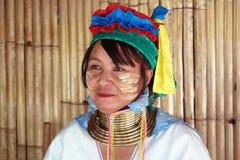 Longue tribu de cou en Thaïlande Photo libre de droits